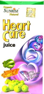 Sunrise Organic Heart Care 800 ml Fruit(Pack of 1)