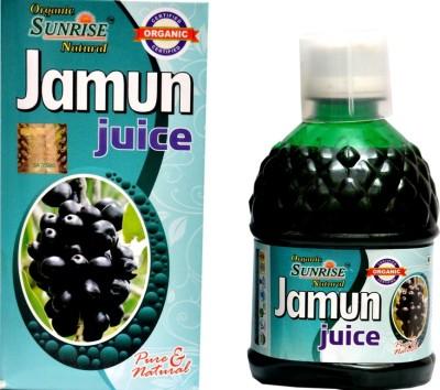 Sunrise Agriland Organic Jamun 400 ml Fruit(Pack of 1)