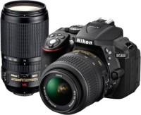 Nikon D5300 DSLR Camera with Kit Lens (AF-P DX NIKKOR 18 - 55 mm f 3.5 - 5.6G VR   AF-P DX NIKKOR 70 - 300 mm f 4.5 - 6.3G ED VR)(Black)