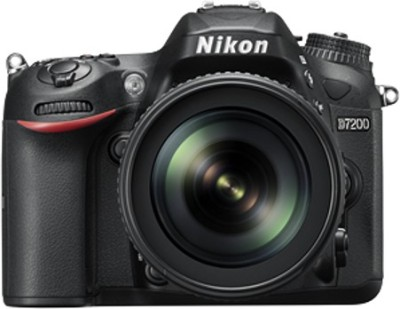 Nikon D7200 DSLR Camera ( Body with AF-S 18 - 105 mm VR Lens )(Black)