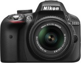 Nikon D3300 DSLR Camera D-ZOOM KIT: AF-P...