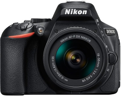 Nikon D5600 DSLR Camera ( With the AF-P DX Nikkor 18 - 55 MM F/3.5-5.6G VR )(Black)