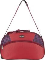 Top Gear TOP GEAR Premium Duffel Bag With Wheel Duffel Strolley Bag(Maroon)