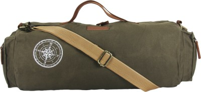 The House of Tara Waxed Canvas Duffle/Gym Bag 20 inch/50 cm