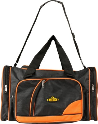 Daikon 4430BlackOrange-TravelBag Travel Duffel Bag(Black, Orange)