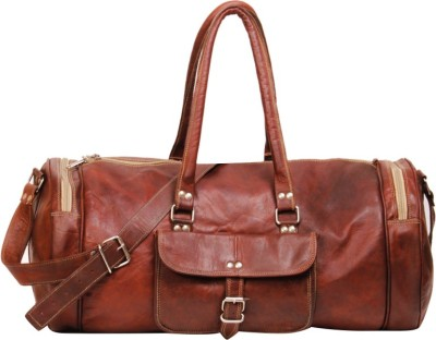 Dunez Leather Duffel Bag 21 inch/53 cm