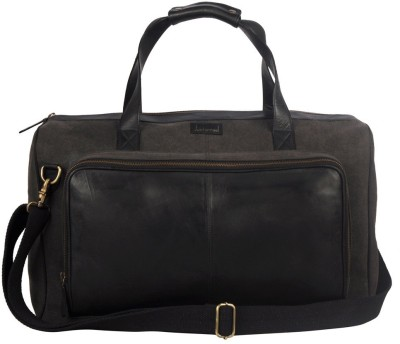 JUSTANNED LEATHER/CANVAS DUFFLE BAG 20 inch/50 cm