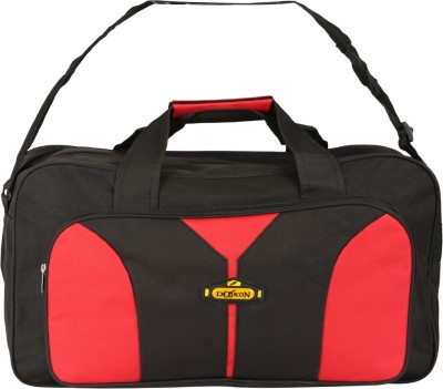 Daikon Fast line-BR 20 inch/50 cm (Expandable) Travel Duffel Bag(Black, Red)