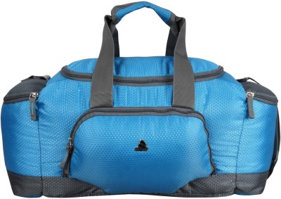 Clubb Mini Travel Duffel Bag(Sky Blue & Grey)