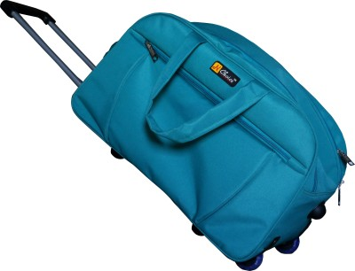 One Up ExpandableGreenTrolleyBag 23 inch/58 cm (Expandable)