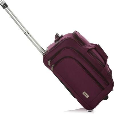 Novex Solo 22 inch/55 cm (Expandable) Duffel Strolley Bag(Purple)