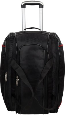 Clubb Travellers Duffel Strolley Bag(Black)