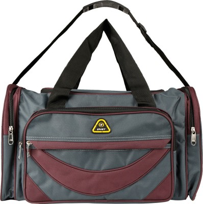 Daikon 4429GrayPurpl-TravelBag Travel Duffel Bag(Gray, Purpl)