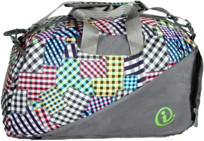 Easies UniSex multicolor Gym bag printed Convertible to Backpack with Shoe compartment 20 inch/50 cm