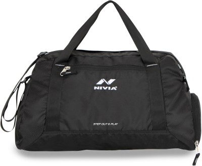 Nivia Yoga bag 14 inch/35 cm Travel Duffel Bag(Black)