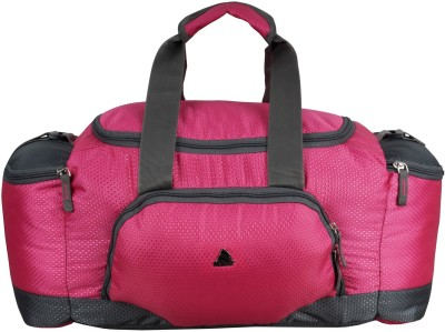 Clubb Mini Travel Duffel Bag(Pink & Grey)