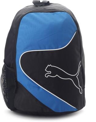 Puma New Power Cat Laptop Backpack(Black, Blue)