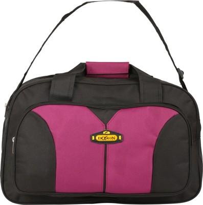 Daikon Fast line-BLPN 17 inch/43 cm (Expandable) Travel Duffel Bag(BLACK, PINK)