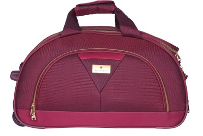 sammerry SMD-03 Duffel Strolley Bag(Burgundy)