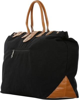 Zobello Urban Duffle Bag 23 inch/58 cm Travel Duffel Bag(Black)