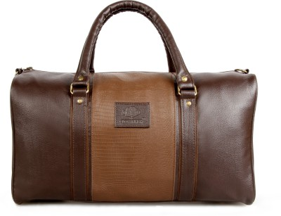 The Clownfish The Clownfish Brown Duffle Bag (Deluxe) 18 inch/45 cm