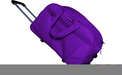 One Up ExpandablePurpleTrolleyBag 23 inch/58 cm (Expandable)