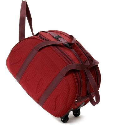 Fidato FDTKDBW01 20 inch/50 cm Duffel Strolley Bag(RED02)