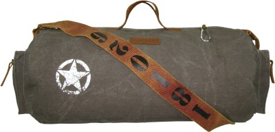 The House of Tara Distress Finish Canvas Duffle/Gym Bag 20 inch/50 cm