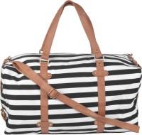 Kleio Unisex Striped Duffle Weekend Bag Travel Duffel Bag