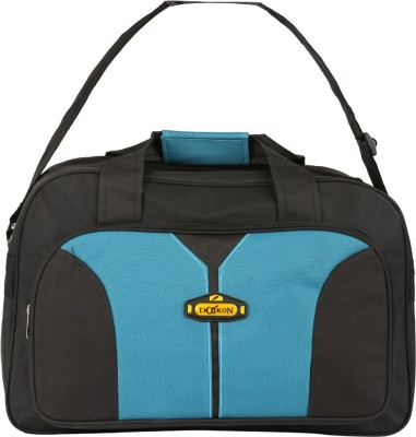 Daikon Fast line-BSBU 17 inch/43 cm (Expandable) Travel Duffel Bag(Black, Skyblue)