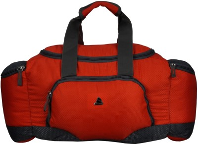 Clubb Mini Travel Duffel Bag(Orange & Grey)