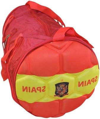 Bagathon India Rio Football Series Folding Gym & Sports Kit Bag - Spain 17 inch/43 cm