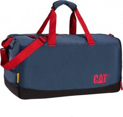 Caterpillar Duffel Bag Duffel Strolley Bag(Blue)