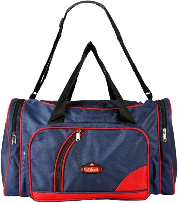 Daikon 4430BlueRed-TravelBag Travel Duffel Bag(Blue, Red)