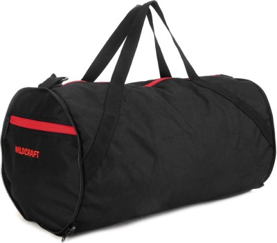 Wildcraft Eclipse Black 18 inch/45 cm Travel Duffel Bag(Black)