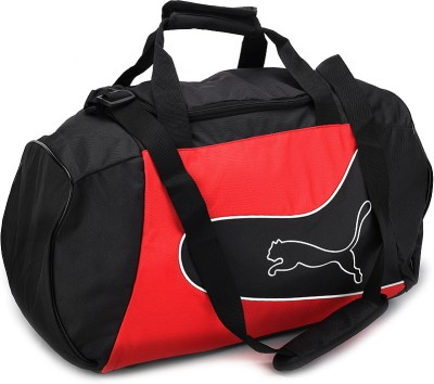 Puma Power Cat 5-12 19 inch/50 cm Travel Duffel Bag(Red and Black)
