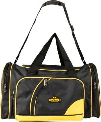 Daikon 4430BlackYellow-TravelBag Travel Duffel Bag(Black, Yellow)