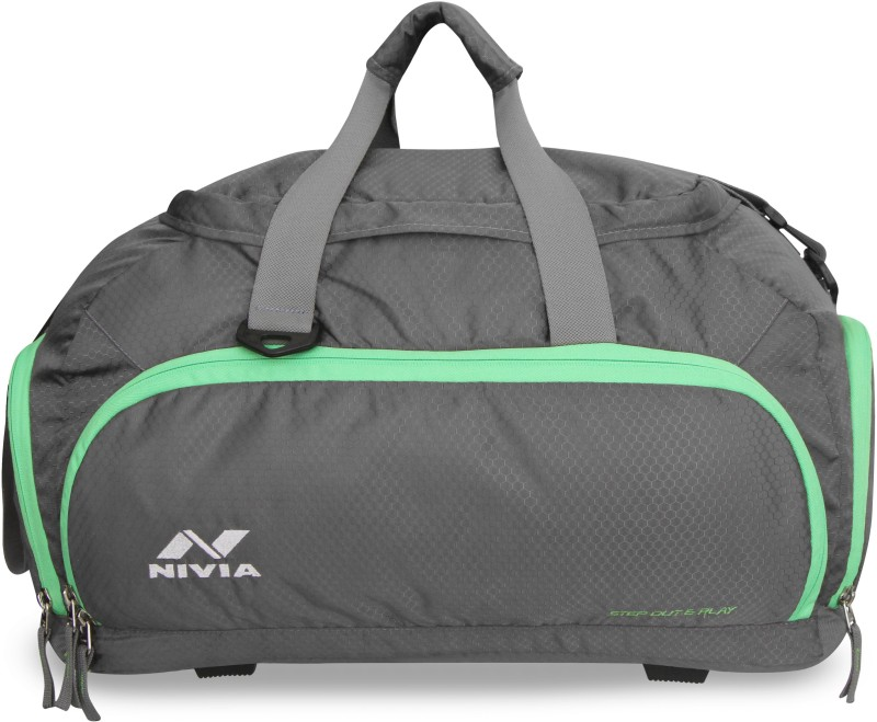 Nivia Carrier 3 Multi-Purpose Bag Travel Duffel Bag(Grey) 36a0320078a2c