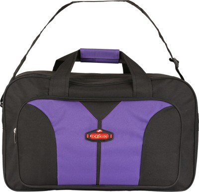 Daikon Fast line-BV 20 inch/50 cm (Expandable) Travel Duffel Bag(Black, Violet)