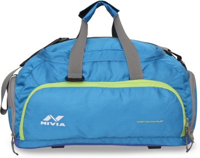 Nivia Carrier 3 Jr Duffel bag Travel Duffel Bag(Blue)