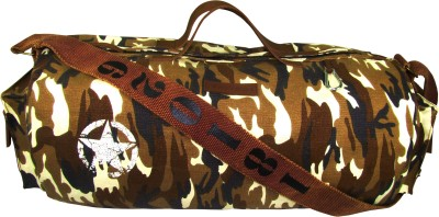 The House of Tara Camouflage Finish Canvas Duffle/Gym Bag 20 inch/50 cm