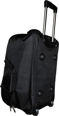 One Up ExpandableBlackTrolleyBag 23 inch/58 cm (Expandable)