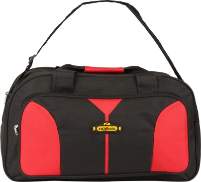 Daikon Fast lineBLRD2 20 inch/50 cm (Expandable) Travel Duffel Bag(BLACK, RED)
