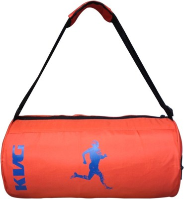 KVG OLA GYM BAG (Expandable) Gym Bag(Orange, Blue)