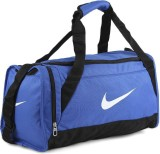 Nike Small Travel Duffel Bag (Blue, Blac...