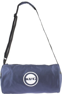 KVG Navy Blue Gym Bag Gym Bag(Blue)
