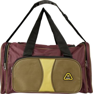 Daikon 4428PurpleGreen-TravelBag Travel Duffel Bag(Purple, Green)