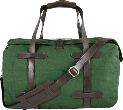 Henry and Smith Rugged Twill Overnight Duffel Bag 17 inch/44 cm