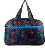 WRIG Hidesign Travel Duffel Bag (Black, ...