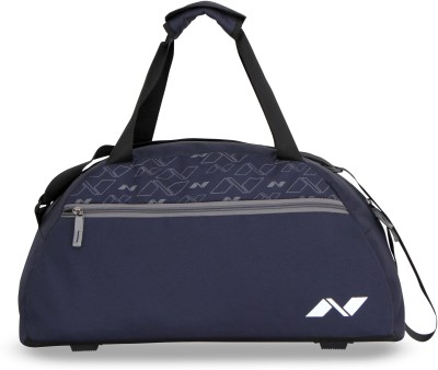 Nivia Journey Duffle Bag 20 inch/50 cm Travel Duffel Bag(Blue, Grey)